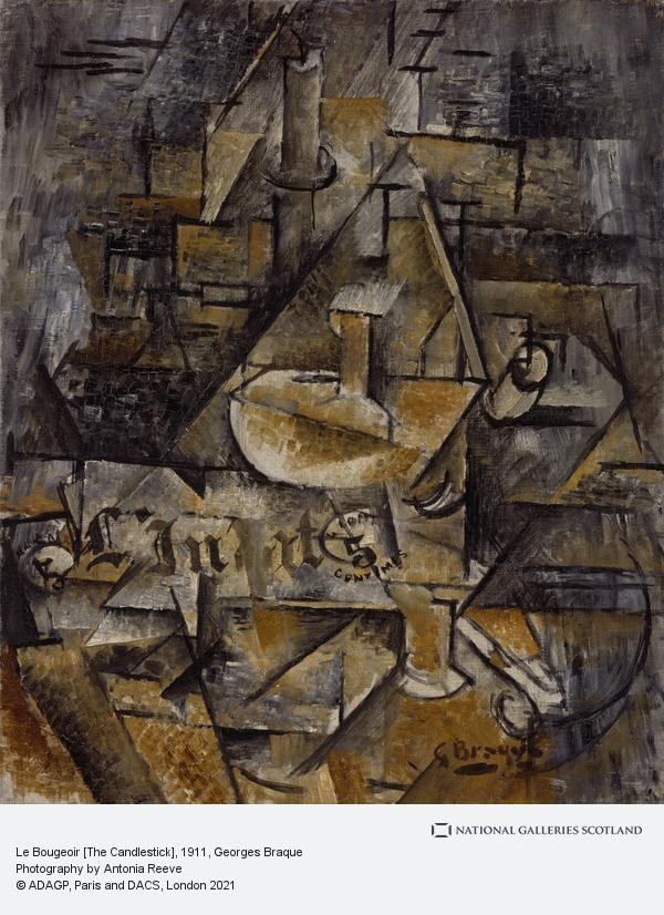Georges Braque, Le Bougeoir [The Candlestick] (1911)