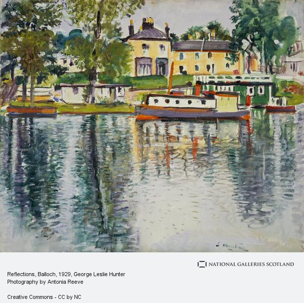 George Leslie Hunter, Reflections, Balloch