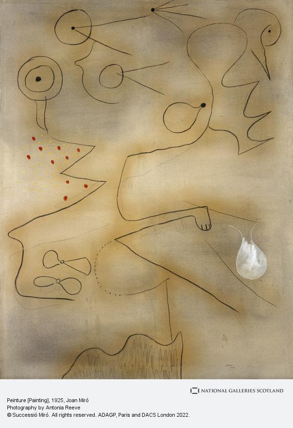 Joan Miro, Peinture [Painting] (1925)