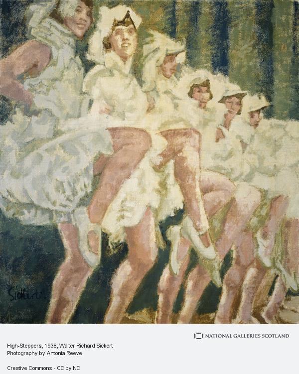 Walter Richard Sickert, High-Steppers (About 1938 - 1939)