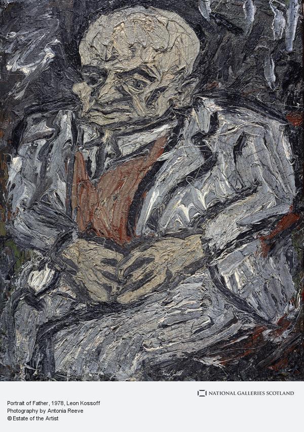 Leon Kossoff, Portrait of Father