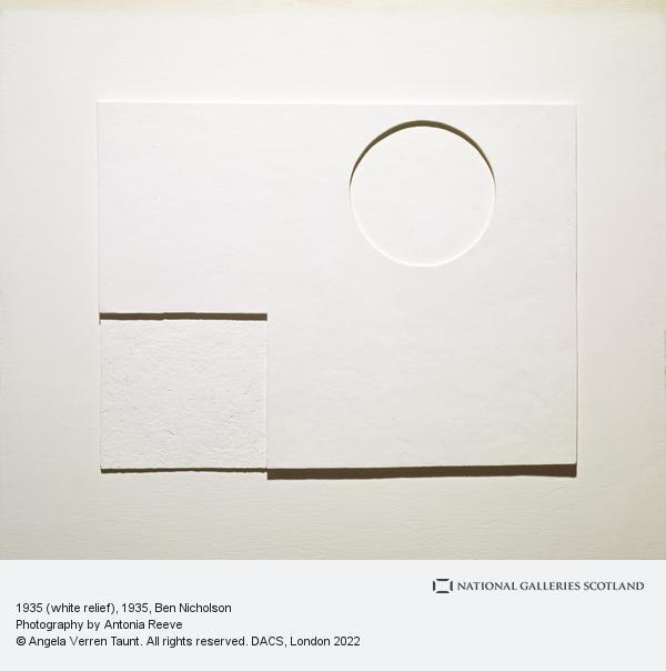Ben Nicholson, 1935 (white relief)