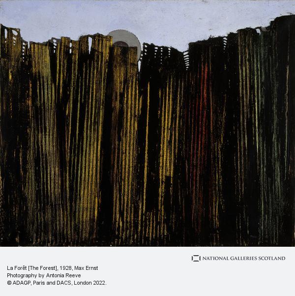 Max Ernst, La Forêt [The Forest]