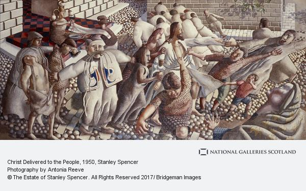 Stanley Spencer, Christ Delivered to the People