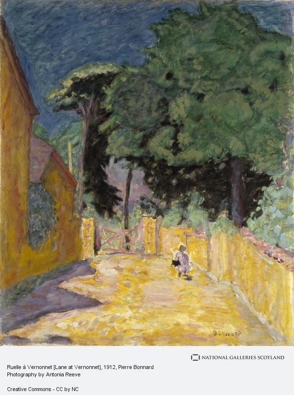 Pierre Bonnard, Ruelle à Vernonnet [Lane at Vernonnet] (About 1912 - 1914)