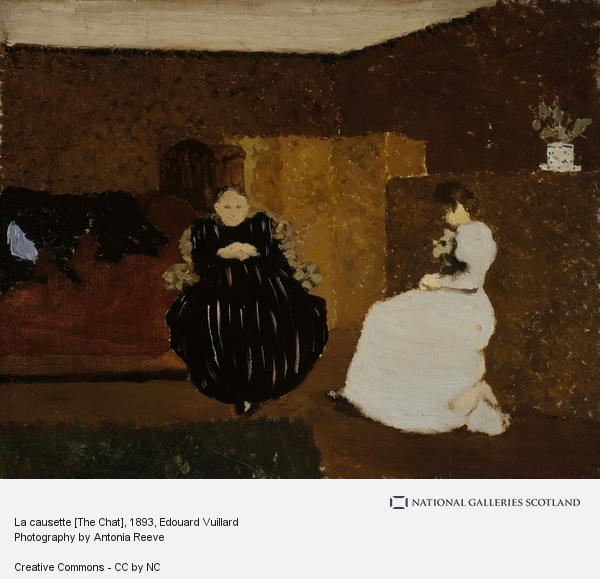 Edouard Vuillard, La causette [The Chat]