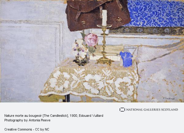 Edouard Vuillard, Nature morte au bougeoir [The Candlestick]