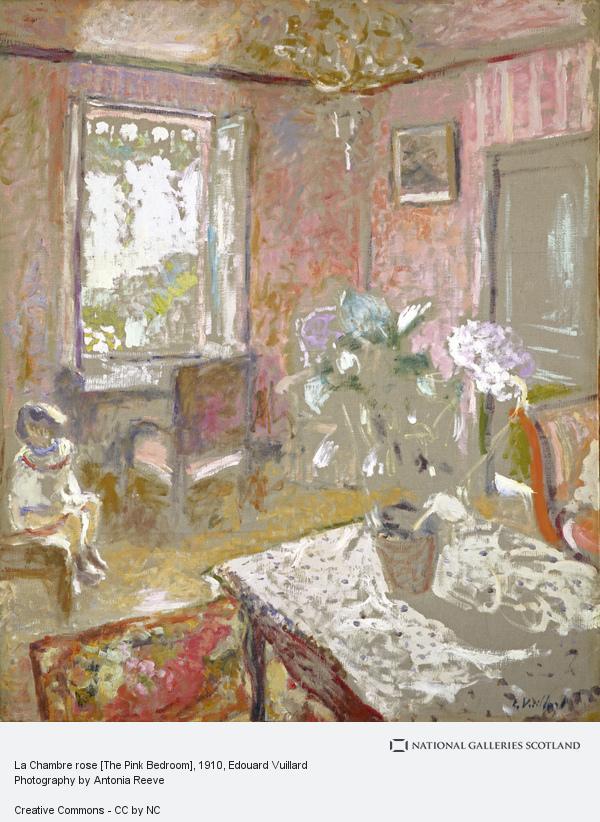 Edouard Vuillard, La Chambre rose [The Pink Bedroom] (About 1910 - 1911)
