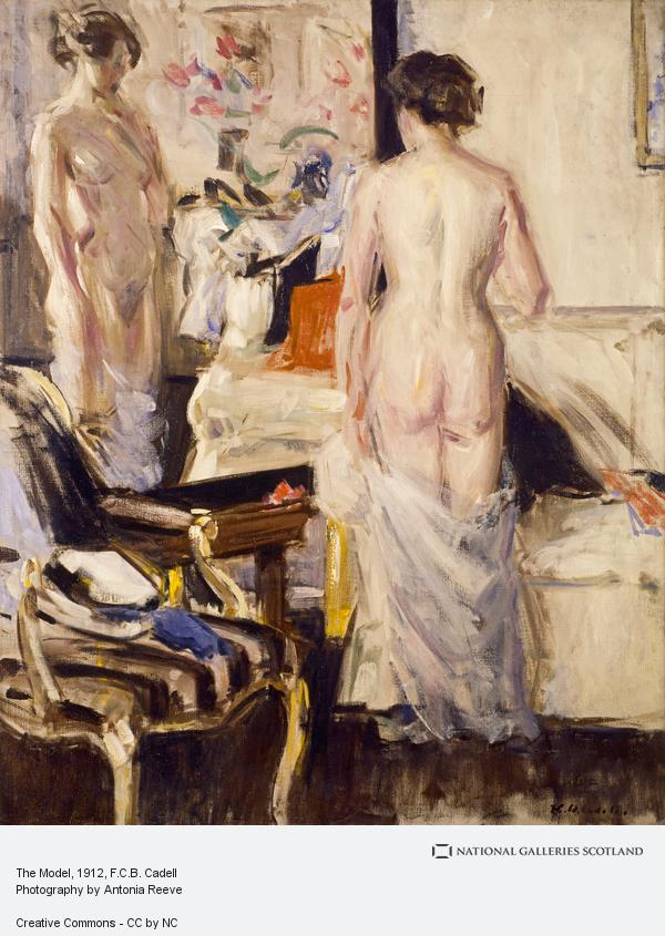 Francis Campbell Boileau Cadell, The Model