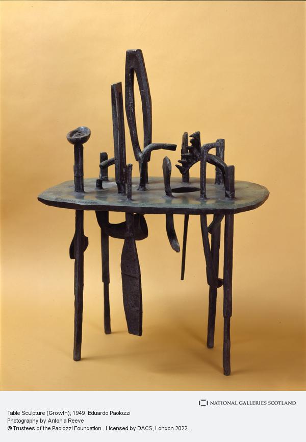 Sir Eduardo Paolozzi, Table Sculpture (Growth)