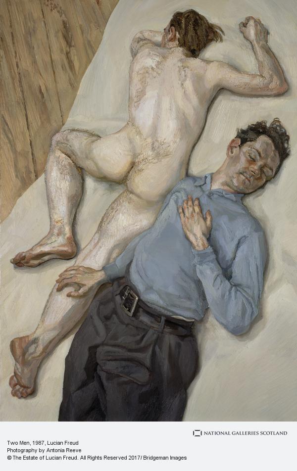 Lucian Freud, Two Men (1987 - 1988)