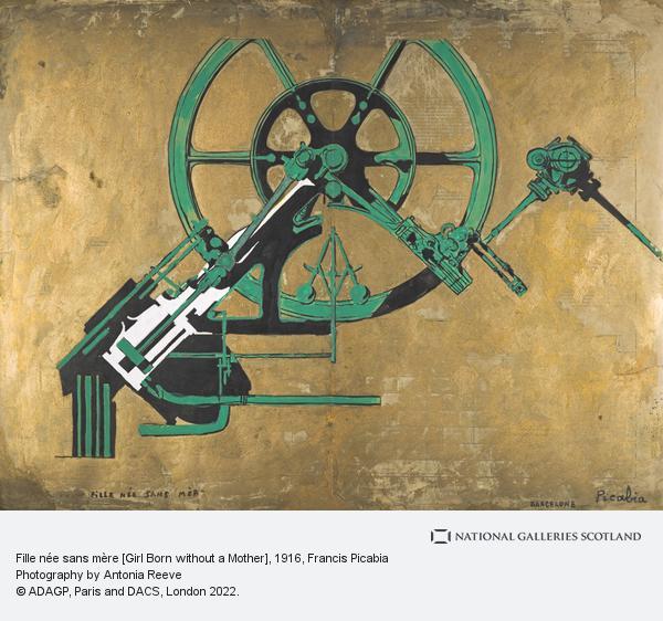 Francis Picabia, Fille née sans mère [Girl Born without a Mother] (About 1916 - 1917)