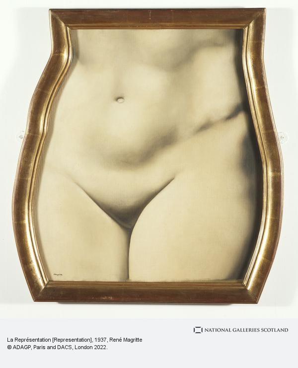Rene Magritte, La Représentation [Representation] (1937)