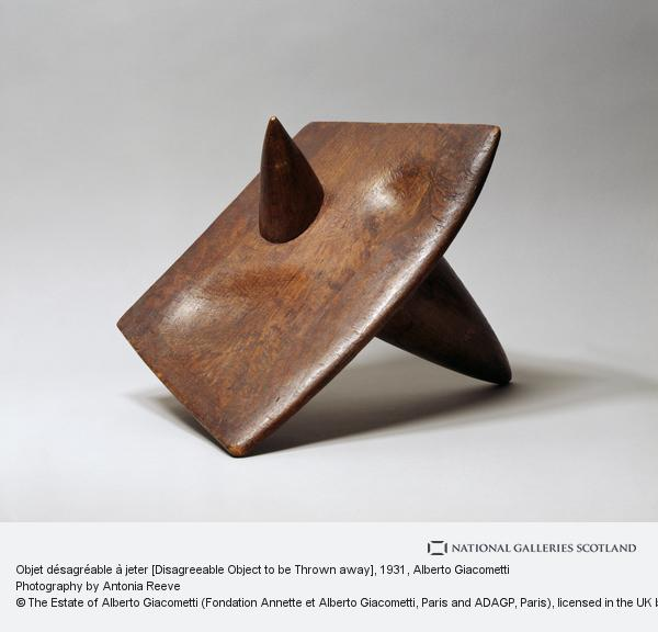 Alberto Giacometti, Objet désagréable à jeter [Disagreeable Object to be Thrown away]