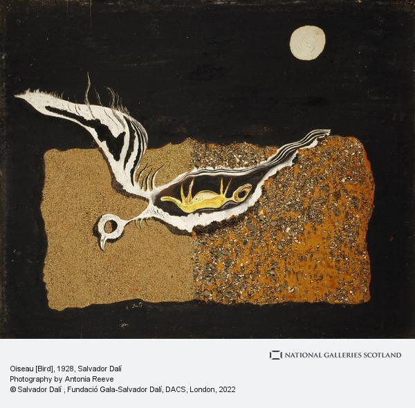 Salvador Dali, Oiseau [Bird] (1928)