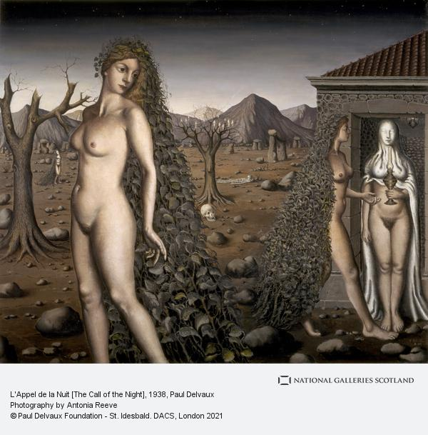 Paul Delvaux, L'Appel de la Nuit [The Call of the Night]