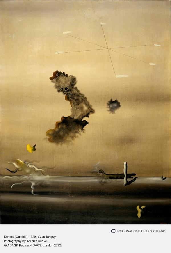 Yves Tanguy, Dehors [Outside]
