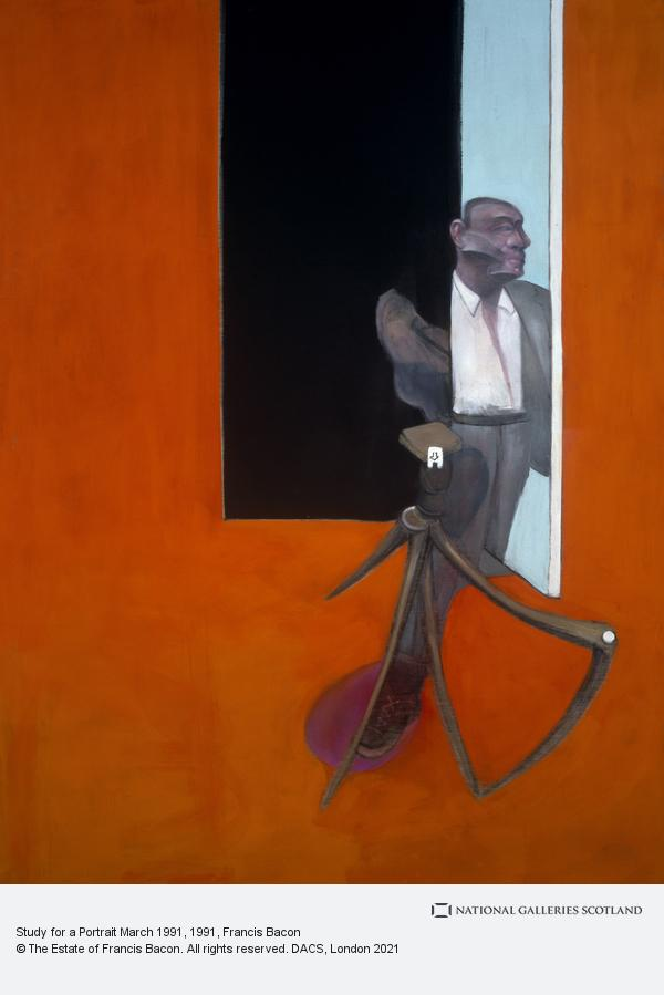 Francis Bacon, Study for a Portrait March 1991