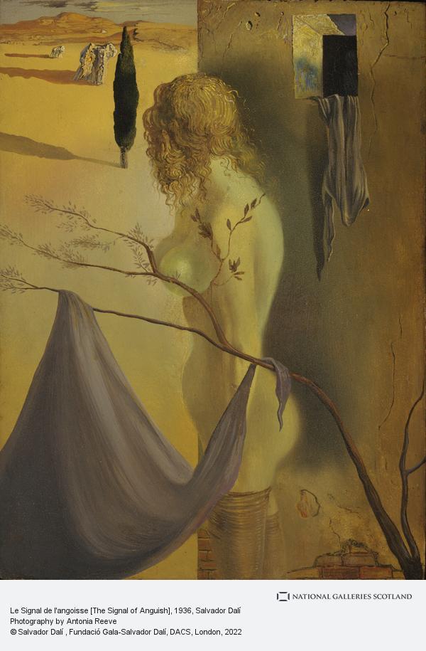 Salvador Dalí, Le Signal de l'angoisse [The Signal of Anguish]