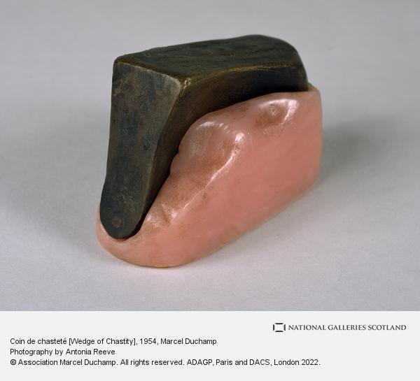 Marcel Duchamp, Coin de chasteté [Wedge of Chastity]