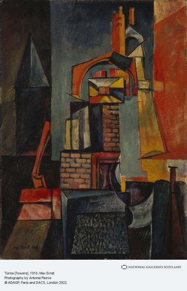 Max Ernst, Türme [Towers]