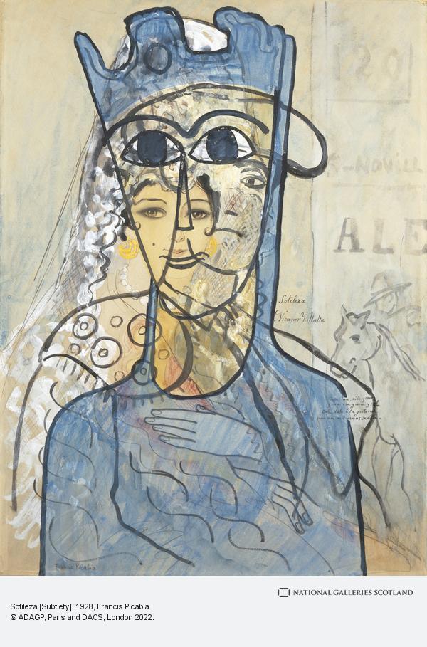 Francis Picabia, Sotileza [Subtlety]