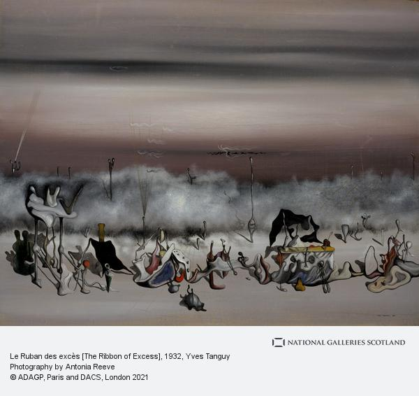 Yves Tanguy, Le Ruban des excès [The Ribbon of Excess]