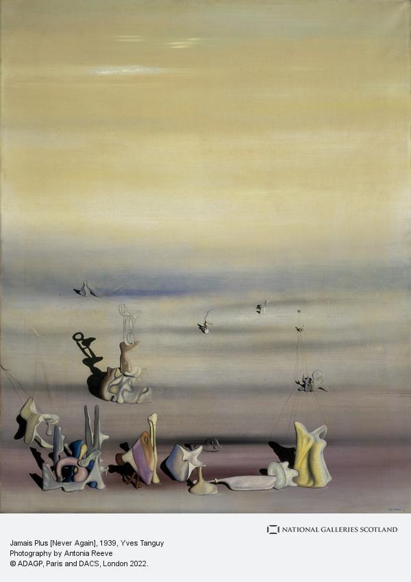 Yves Tanguy, Jamais Plus [Never Again] (1939)