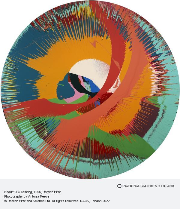 Damien Hirst, Beautiful C painting