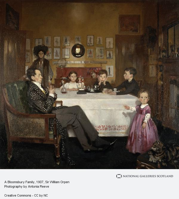 Sir William Orpen, A Bloomsbury Family (1907)