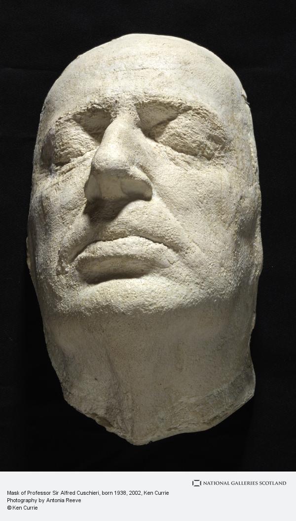 Ken Currie, Mask of Professor Sir Alfred Cuschieri, born 1938