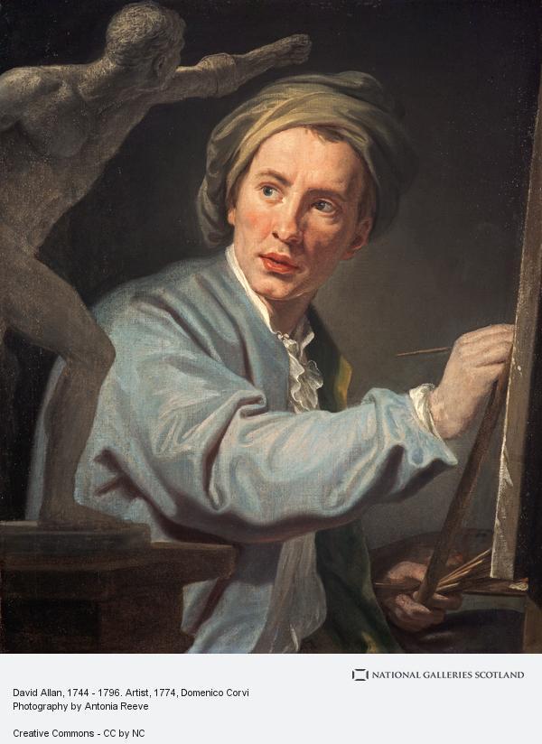Domenico Corvi, David Allan, 1744 - 1796. Artist