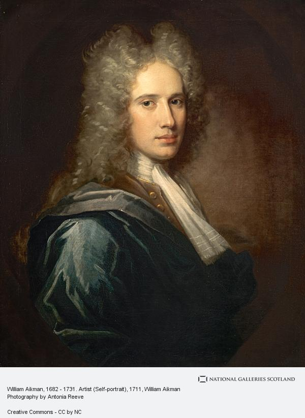 William Aikman, William Aikman, 1682 - 1731. Artist (Self-portrait) (1711)