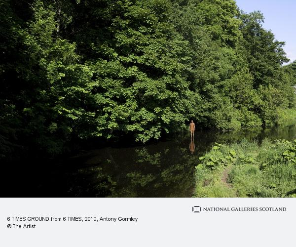 Antony Gormley, 6 TIMES GROUND from 6 TIMES (2010)
