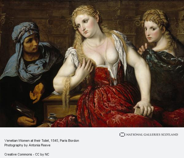 Paris Bordon, Venetian Women at their Toilet (About 1545)