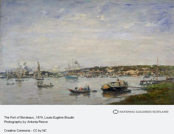 Eugene Louis Boudin, The Port of Bordeaux
