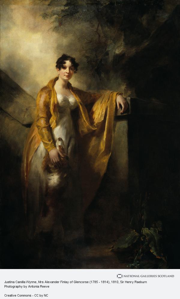 Sir Henry Raeburn, Justina Camilla Wynne, Mrs Alexander Finlay of Glencorse (1785 - 1814)