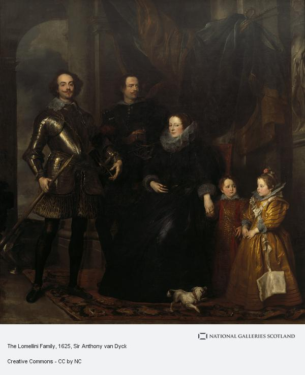 Sir Anthony van Dyck, The Lomellini Family (About 1625 - 1627)