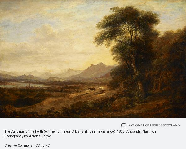 Alexander Nasmyth, The Windings of the Forth (or The Forth near Alloa, Stirling in the distance)