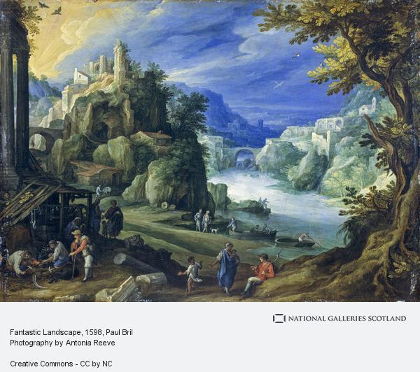 Paul Bril, Fantastic Landscape (1598)
