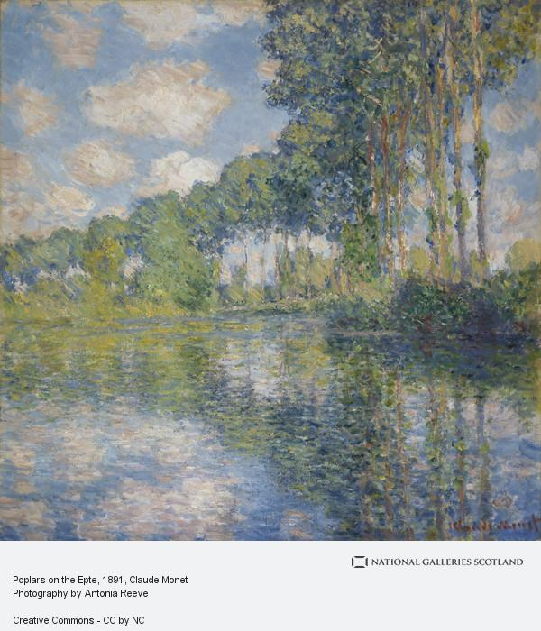 Claude Monet, Poplars on the Epte (1891)