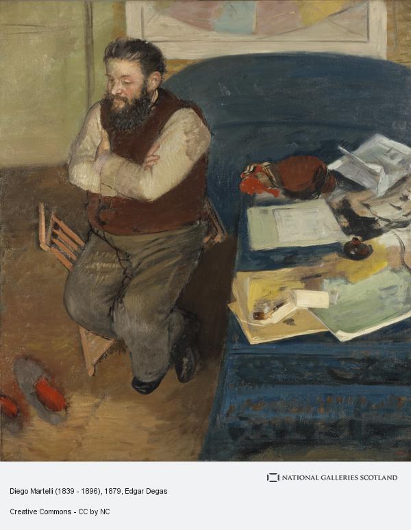 Hilaire-Germain-Edgar Degas, Diego Martelli (1839 - 1896)