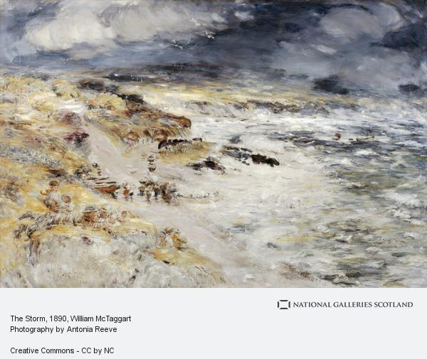William McTaggart, The Storm