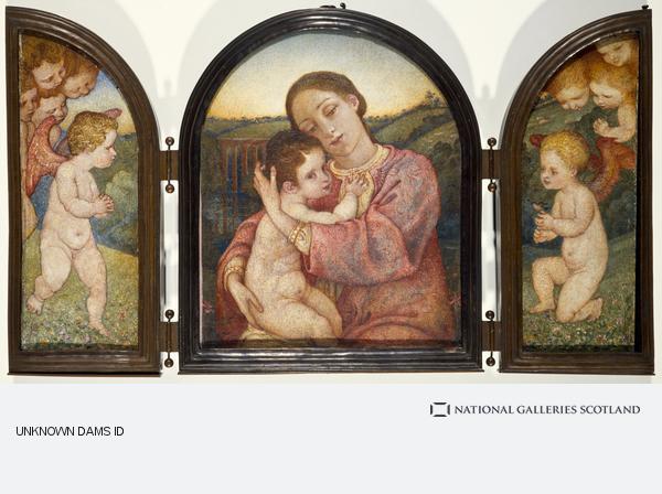 Phoebe Anna Traquair, Triptych. Motherhood