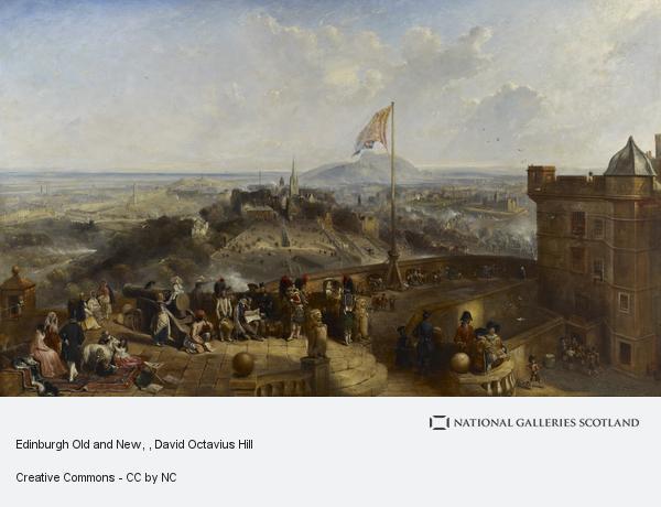 David Octavius Hill, Edinburgh Old and New