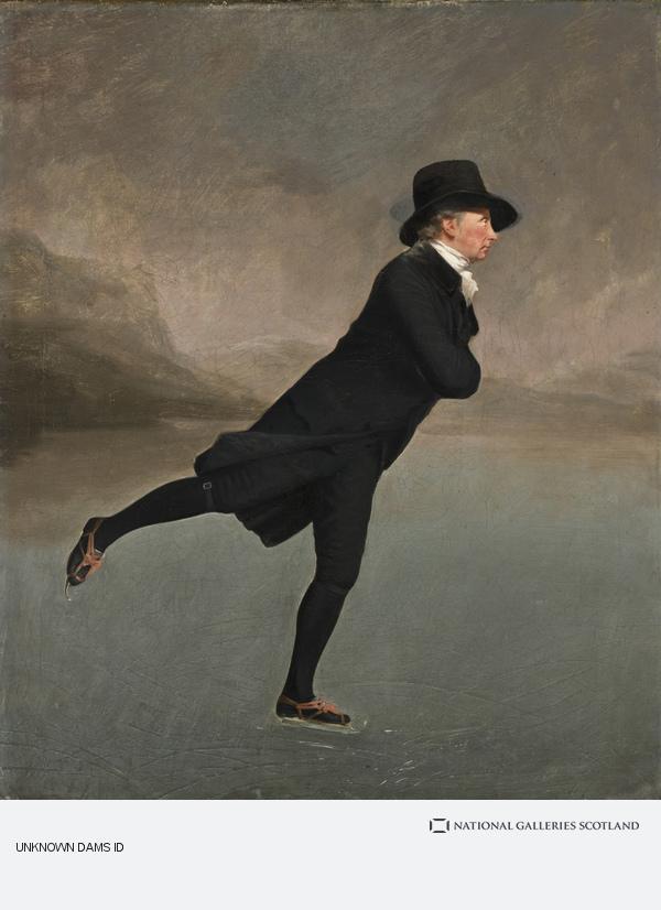 Sir Henry Raeburn, Revd Dr Robert Walker (1755 - 1808) Skating on Duddingston Loch (About 1795)