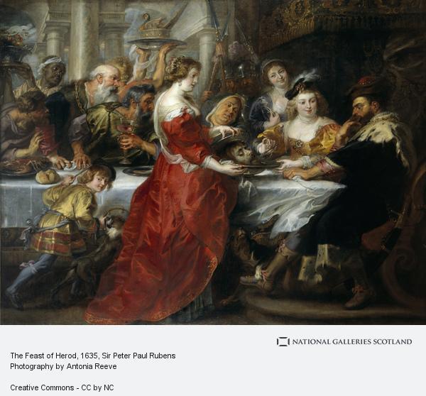 Sir Peter Paul Rubens, The Feast of Herod (About 1635 - 1638)