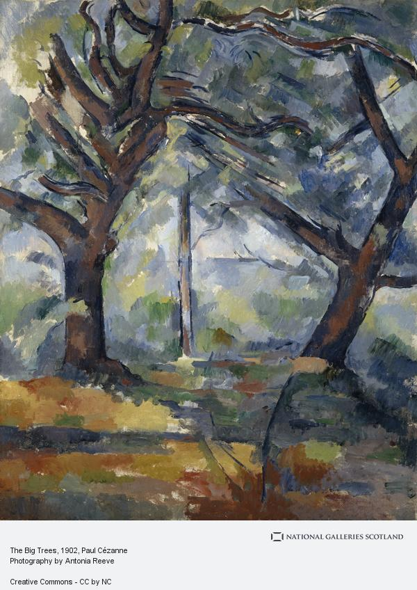 Paul Cezanne, The Big Trees (About 1902 - 1904)