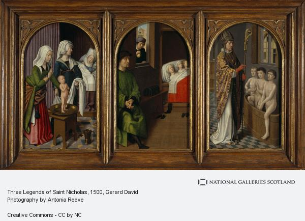 Gerard David, Three Legends of Saint Nicholas (About 1500 - 1520)