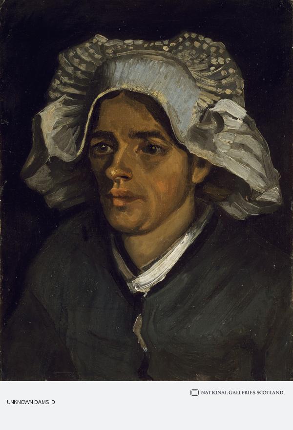 Vincent van Gogh, The Head of a Peasant Woman (1885)